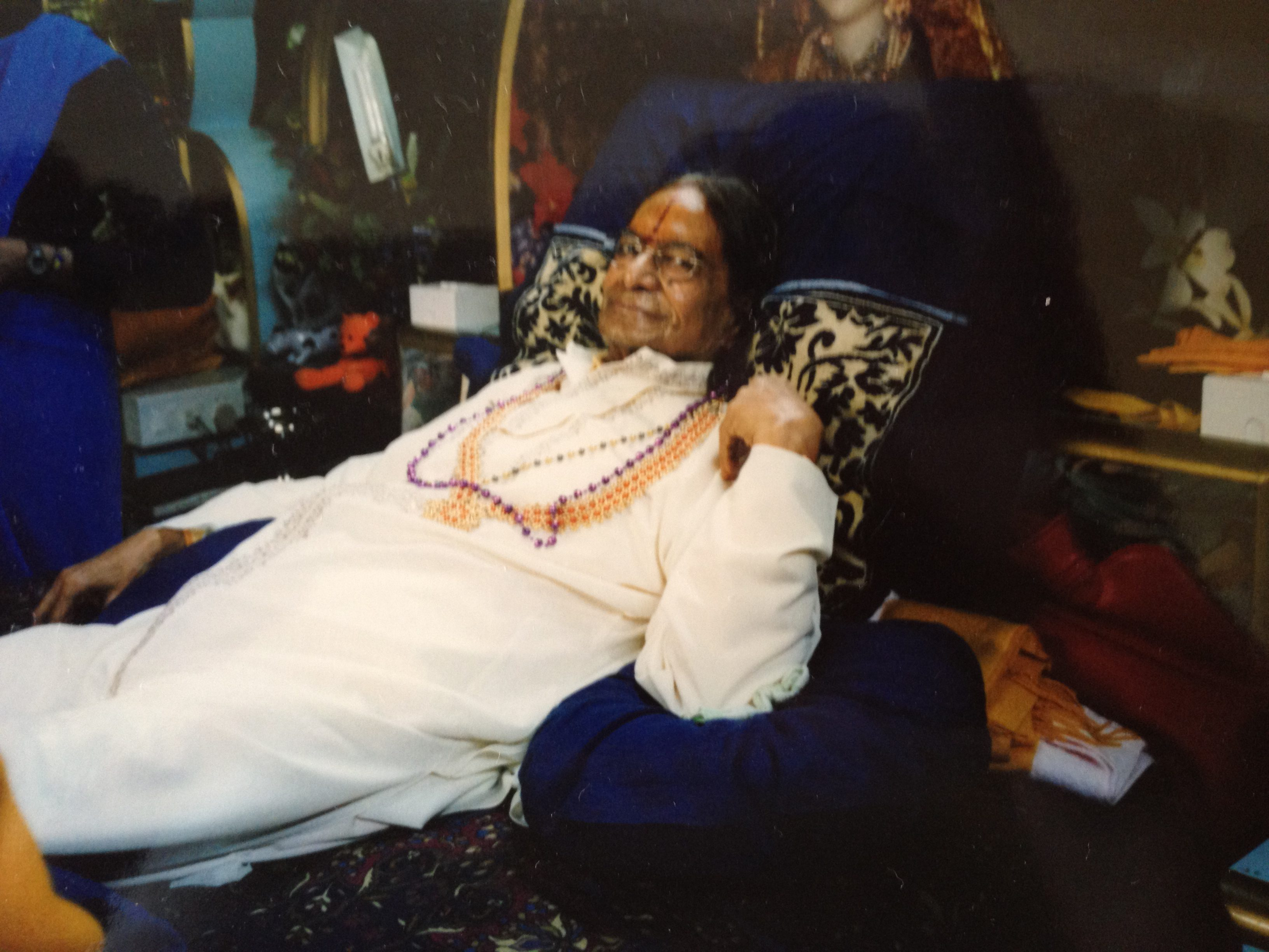 Kripalu Maharaji in His Bed