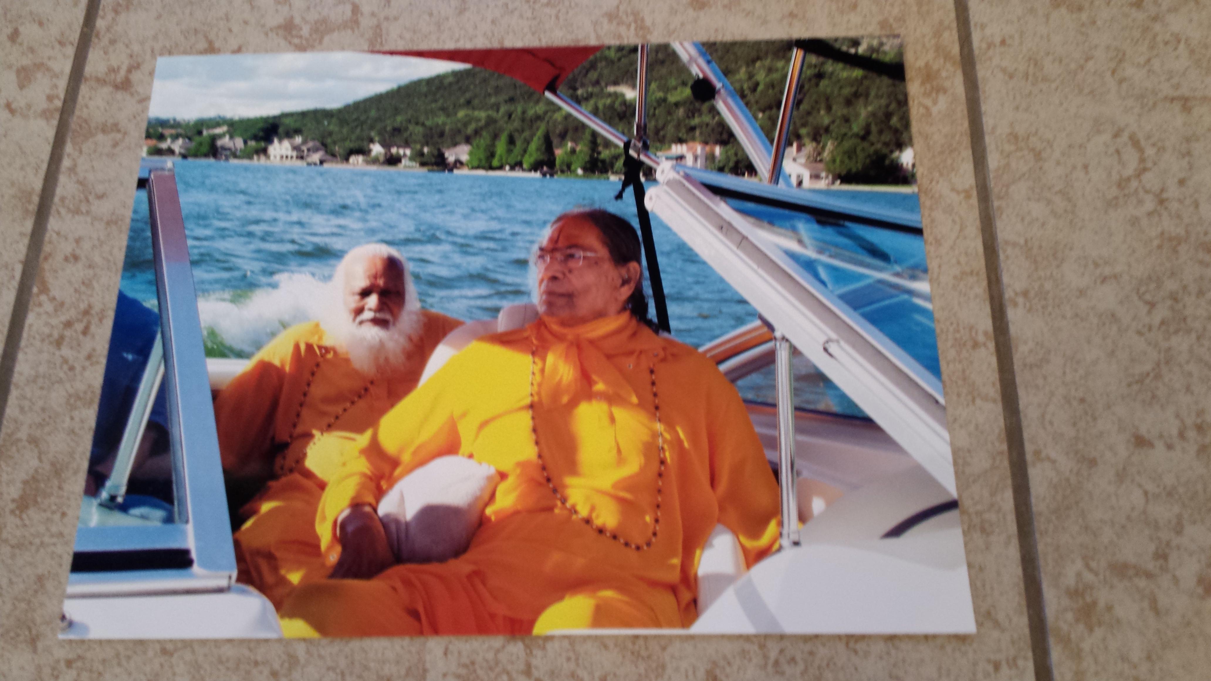 Guru boating buddies